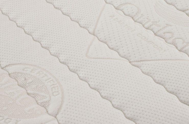 dettaglio su materasso prodotto dal materassificio montalese