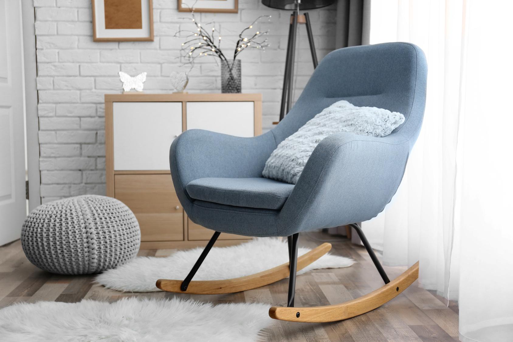 Sedia a dondolo tra design e fascino retr la stanza perdormire - Sedia a dondolo design ...