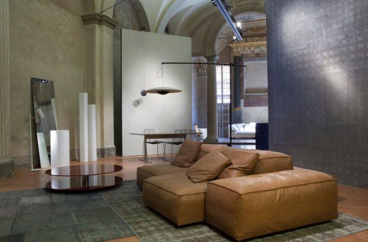 chiesa neve di bologna arredata per la Bologna design week