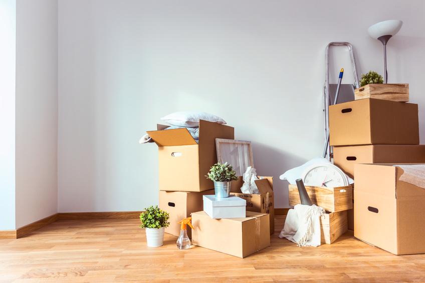 Scatole per imballaggio. Scopri come organizzare un trasloco.