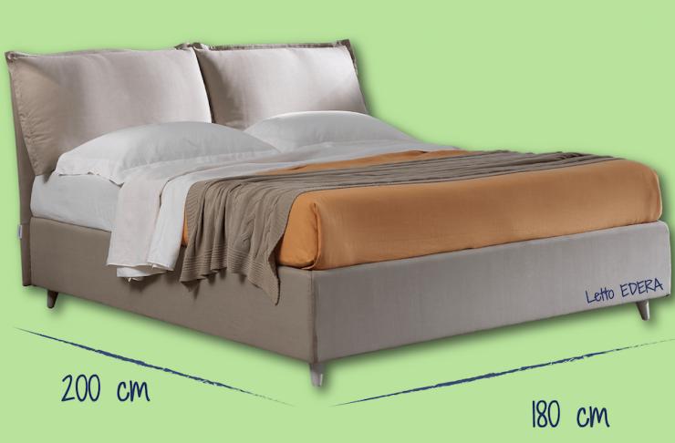 Più spazio al benessere. Il letto è king size