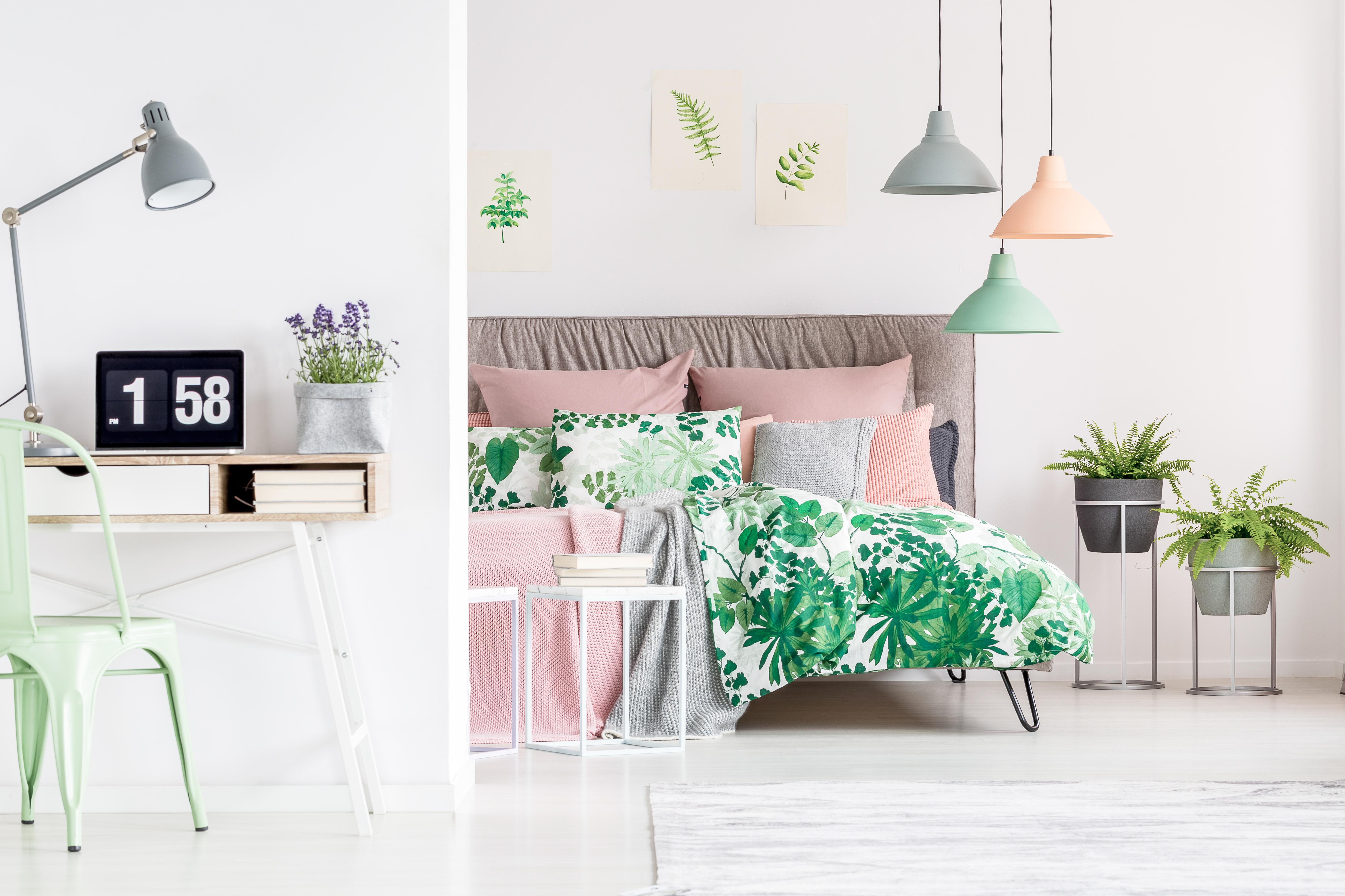 Aromaterapia Camera Da Letto relax in camera da letto con le piante aromatiche - la