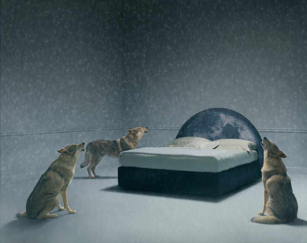 letto luna dalla collezione una fiaba perdormire