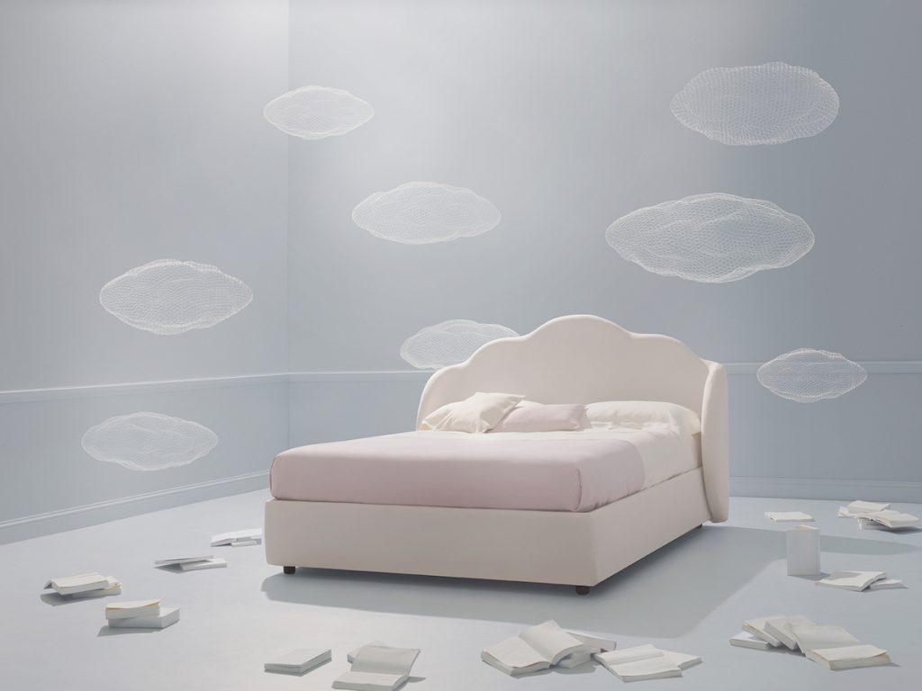 letto nuvola dalla collezione una fiaba perdormire
