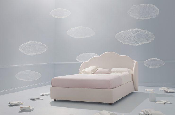 Nuvola, uno dei letti di design una fiaba perdormire